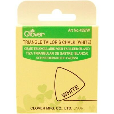 Chalk Triangle White - Tailors Clover Fabric Marker Chalk