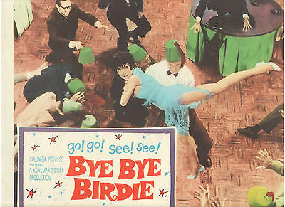 Bye Bye Birdie Janet Leigh With Shriners Vintage Original U.s. Lobby Card