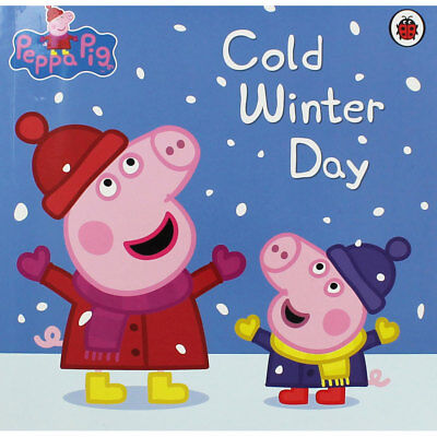 Peppa Pig - Cold Winter Day by Penguin (Paperback), Children's Books, Brand New