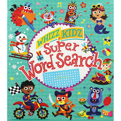 Whizz Kidz - Super Word Search (Paperback), Children's Books, Brand New