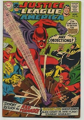 Justice League of America 64 First Silver Age Red Tornado