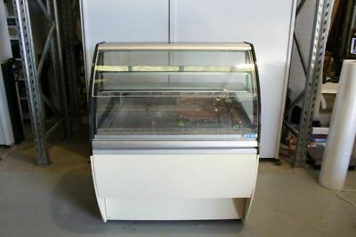 Ital Proget Twist 110 Cake Pastry Refrigerated Fridge Curved Display