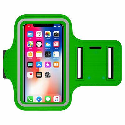 Universal Exercise Armband Gym Sport With Key Holder - Green