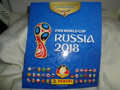 PANINI WM 2018 Russia World Cup Hardcover Album Sammelalbum Licensed NEU