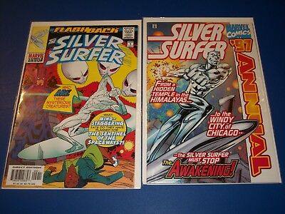 Silver Surfer Annual #1997, Flashback minus 1 lot of 2 NM Gems