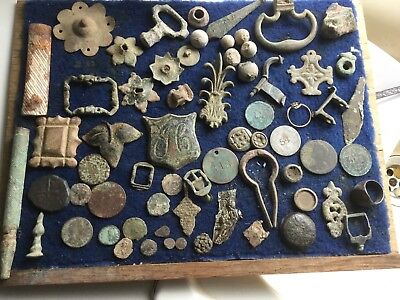 Big Lot Of Detecting Finds 2