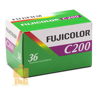 Fujifilm Fujicolor C200 35mm Color Print Film 36 Exp Fuji 1Rolls / 2020-03