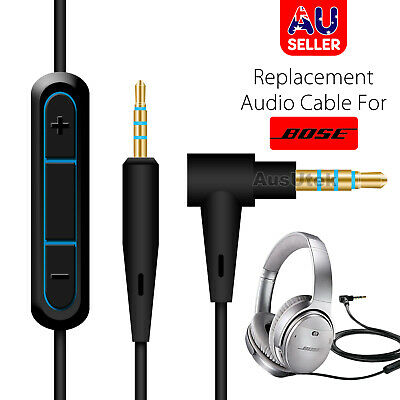 New Cable for Sennheiser Momentum 2.0 HD1 Headphones & iPhone Android Remote Mic