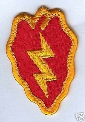 US ARMY 25th Division Tropic Lightning Uniform patch Aufnäher
