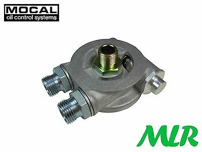 Mocal Sp1 / Otsp1 Oil Cooler Take Off Sandwich Plate With Optional Thermostat