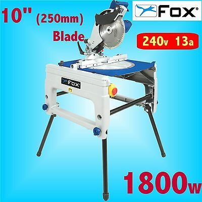 FOX F36-610 240v 250mm 10 Flip Over Saw Table Bench Circular Saw