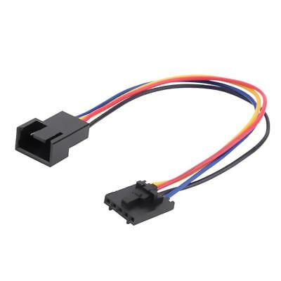 5Pin to 4Pin Cooling Fan Connector Adapter Converter Extension Cable for Dell PC
