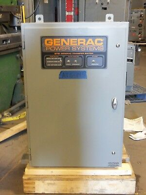 Generac 400 Amp Automatic Transfer Switch ATS 480v 3 Phase Pole ats145