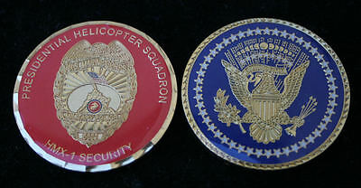 # Hmx-1 Us Marines President Mp Challenge Coin Security Presidential Marine One