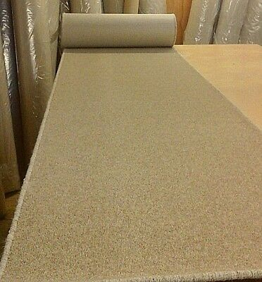 WHIPPED FEATURE STAIR CARPET RUNNER 66cm x 8 metres 80% WOOL TWIST PILE