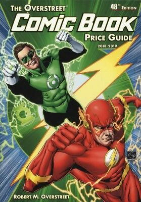 2018-2019 Overstreet Comic Book Price Guide 48th Grade Green Lantern Flash Cover