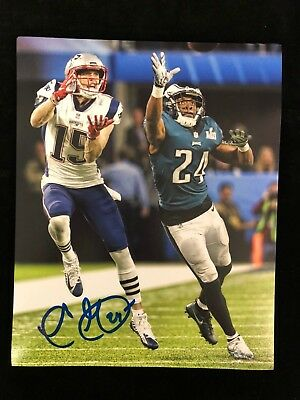 PHILADELPHIA EAGLES SUPER BOWL CHAMP COREY GRAHAM AUTOGRAPHED 16x20PHOTO #5W/COA Photos