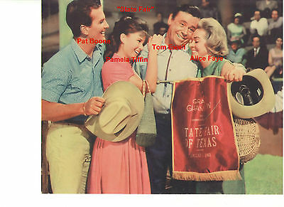 State Fair Pat Boone Alice Fay Pamela Tiffin Tom Ewell Vintage Orig Still Photo