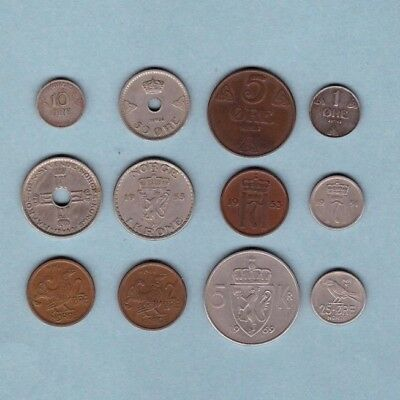 Norway (1909-1969) - Coin Collection - Lot # Z-3 - World/Foreign/Europe