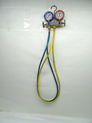 Yellow Jacket Manifold with Hoses - R-22 / 404a / 410a - 7/L269653A9