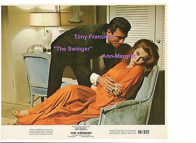 THE SWINGER ANN MARGRET TONY FRANCISOA VINTAGE ORIGINAL 8x10 COLOR STILL PHOTO