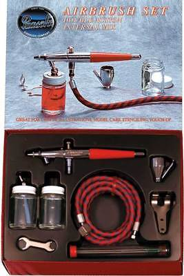 Paasche Airbrush Double Action Internal Mix Siphon Feed Airbrush Set