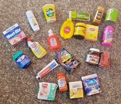 Coles Little Shop Minis Collectables **free Postage**
