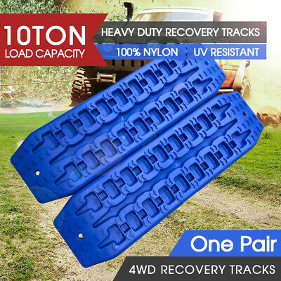 2pc NEW 10T Pair Recovery Tracks Sand Track Sand / Snow / Mud Trax 4WD
