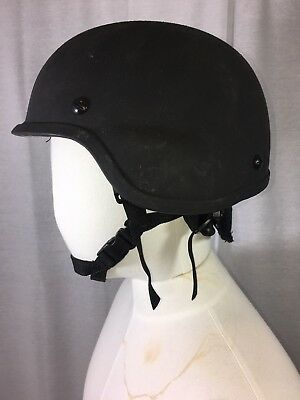 Ceradyne BA3A Level lllA Tactical Ballistic Helmet  Large Used Excellent Cond