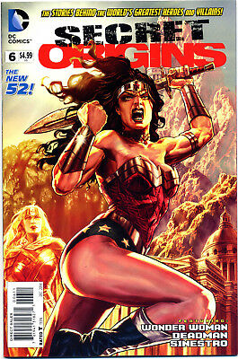 Secret Origins #6 Wonder Woman Dc 2014 Series Nm First Print Bagged And Boarded
