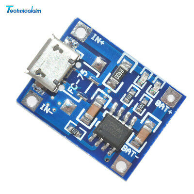 5Pcs TP4056 5V 1A MICRO USB Battery Charging Module