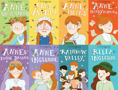 Anne of Green Gables The Complete 8 Book Collection By Lucy Maud Montgomery