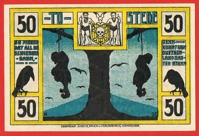 Germany / Anti Semitic Notgeld - Hanged jews - Tostedt 1921 - UNC