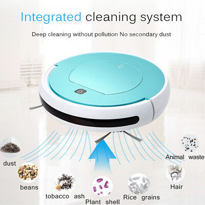 Smart Cleaning Robot Robotic Vacuum Dry Wet Sweeper Cleaner Machine Household