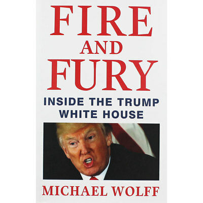Fire and Fury - Inside the Trump White House (Hardback), Non Fiction Books, New