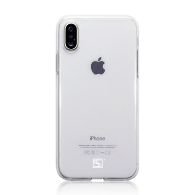 Shocksock TPU Gel Case for New Apple iPhone X / XS - Clear