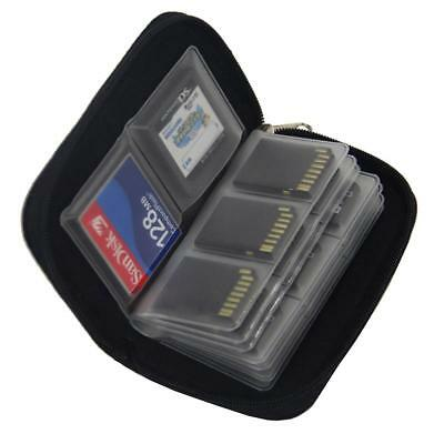 Memory Card Storage Carrying Pouch Case Holder Wallet For CF/SD SC 09