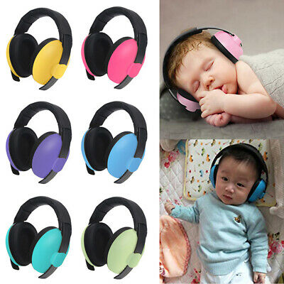 Kids Safety Sound Impact Ear Muffs Hearing Protection Noise Reduction