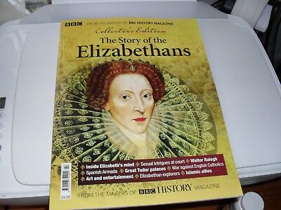 Bbc Collector's Edition Magazine = The Story Of The Elizabethans = 2018