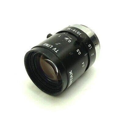 Pentax C3516-M Machine Vision Camera Lens, 35mm Focal Length, 1:1.6, C-Mount