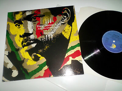 KING SUNNY ADE AND HIS AFRICAN BEATS - JUJU MUSIC - LP in EX!!