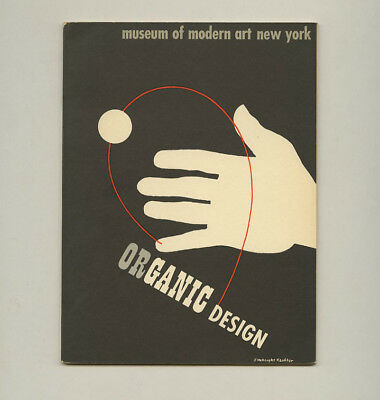 1941 Eliot Noyes ORGANIC DESIGN IN HOME FURNISHINGS classic MoMA Eames catalog
