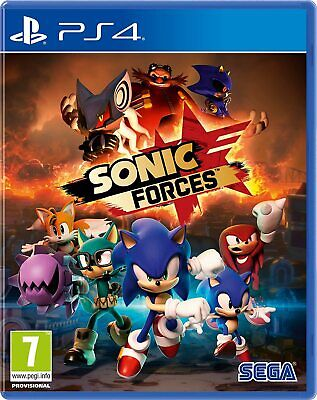 PS4 Spiel Sonic Forces Bonus Day One Edition NEUWARE