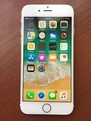 Apple iPhone 6 - 32GB - Gold (Boost Mobile) A1586 (CDMA + GSM) BAD ESN