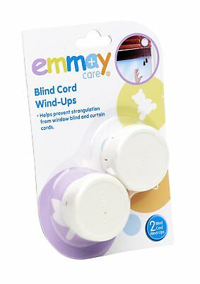 Emmay Care Blind Cord Wind-Ups Child Window Safety Baby Proofing 2 Pack
