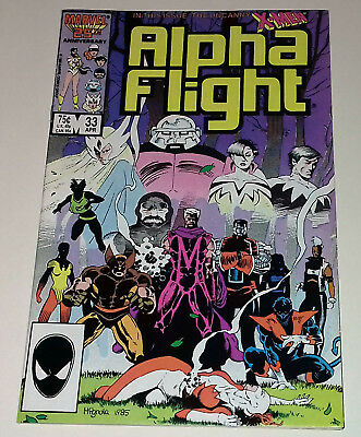 Alpha Flight #33 first appearance Lady Deathstrike Marvel Comics