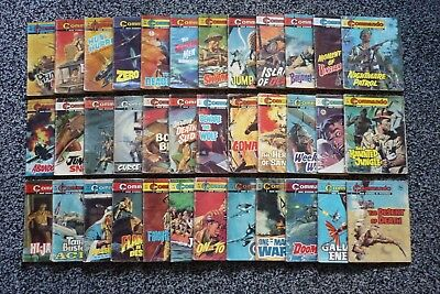 36 Commando Comics.Nos 400/787.Job Lot