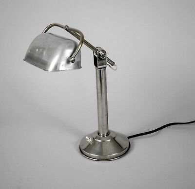 French Art Deco  Modernist  Desk  Lamp Pirouett 1