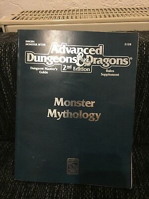 Advanced Dungeon & Dragons Monster Mythology