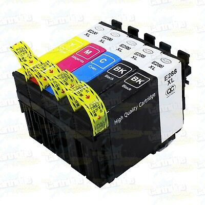 5PK Remanufactured 288XL Ink For Epson XP-330 XP-340 XP-430 XP-434 XP-440 XP-446